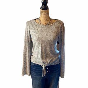 Lc Lauren Conrad gray long sleeved sweater